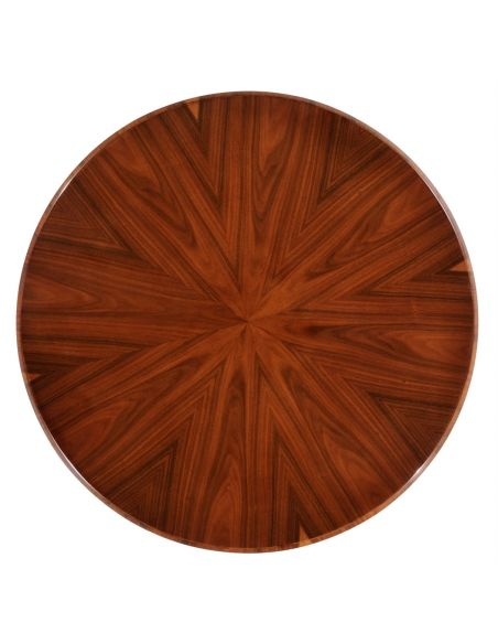 Round & Oval Side Tables Art Deco Living Room Side Tables-13