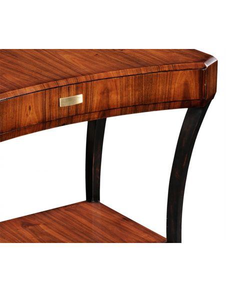 Square & Rectangular Side Tables Rectangular Single Drawer Side Table-15