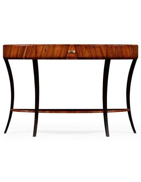 Console & Sofa Tables Art Deco Demilune Console Table-17