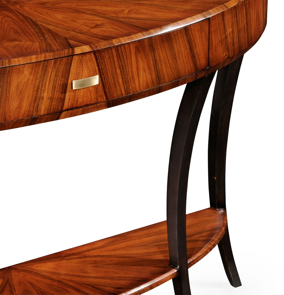 Art deco demilune console table 17 geotapseo Gallery