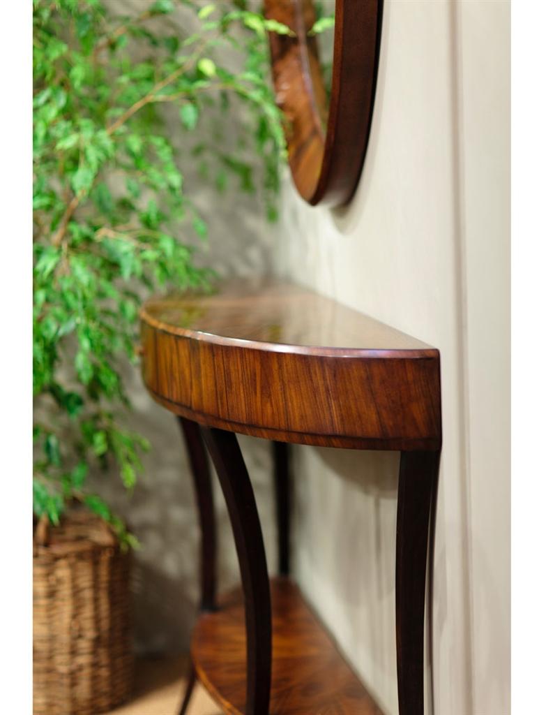 Art Deco Demilune Console Table-17