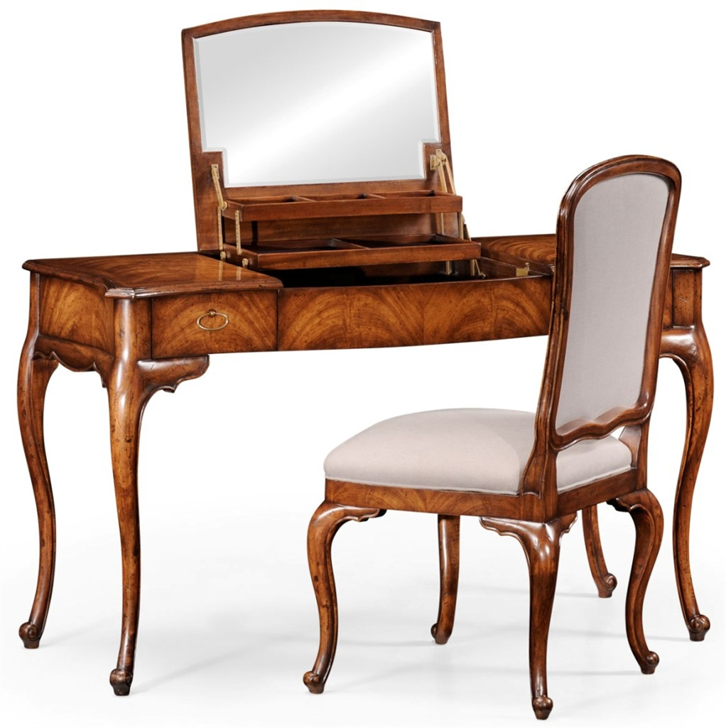 Vanity dressing table with pop up mirror and storage for Quality furniture