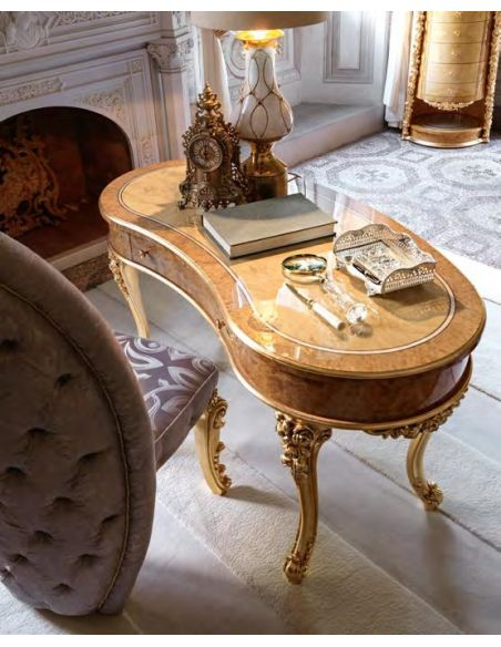 Furniture Masterpieces Royal kidney shaped writing desk