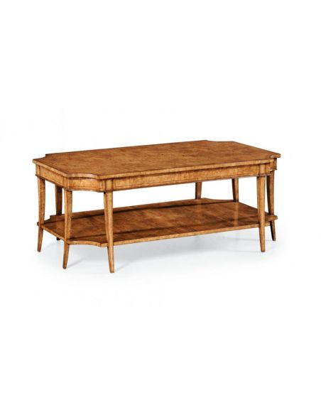 Coffee Tables High End Furniture Coffee table In Light Honey