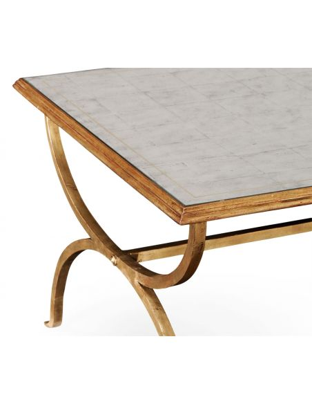 Rectangular and Square Coffee Tables Contemporary Rectangular Coffee Table and End Tables-62