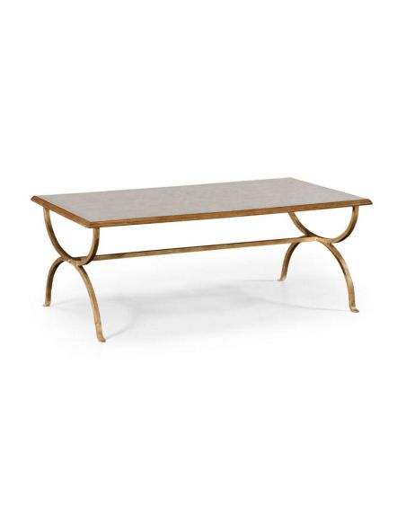 Coffee Tables High End Furniture Coffee Table In Gilded