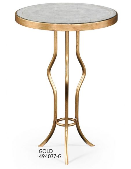 Square & Rectangular Side Tables Circular Glass Table Top-79