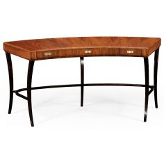Antique Writing Desk with Drawer-81