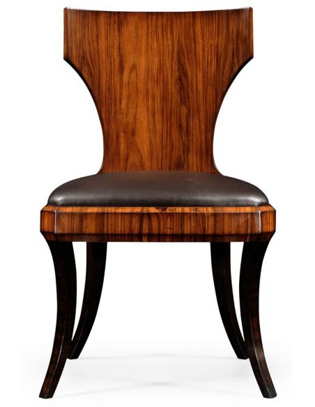 Square & Rectangular Side Tables Upholstered Leather Chair Set-92