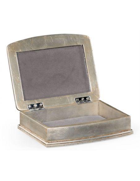 Decorative Accessories Antique Sliver Lidded Box-117