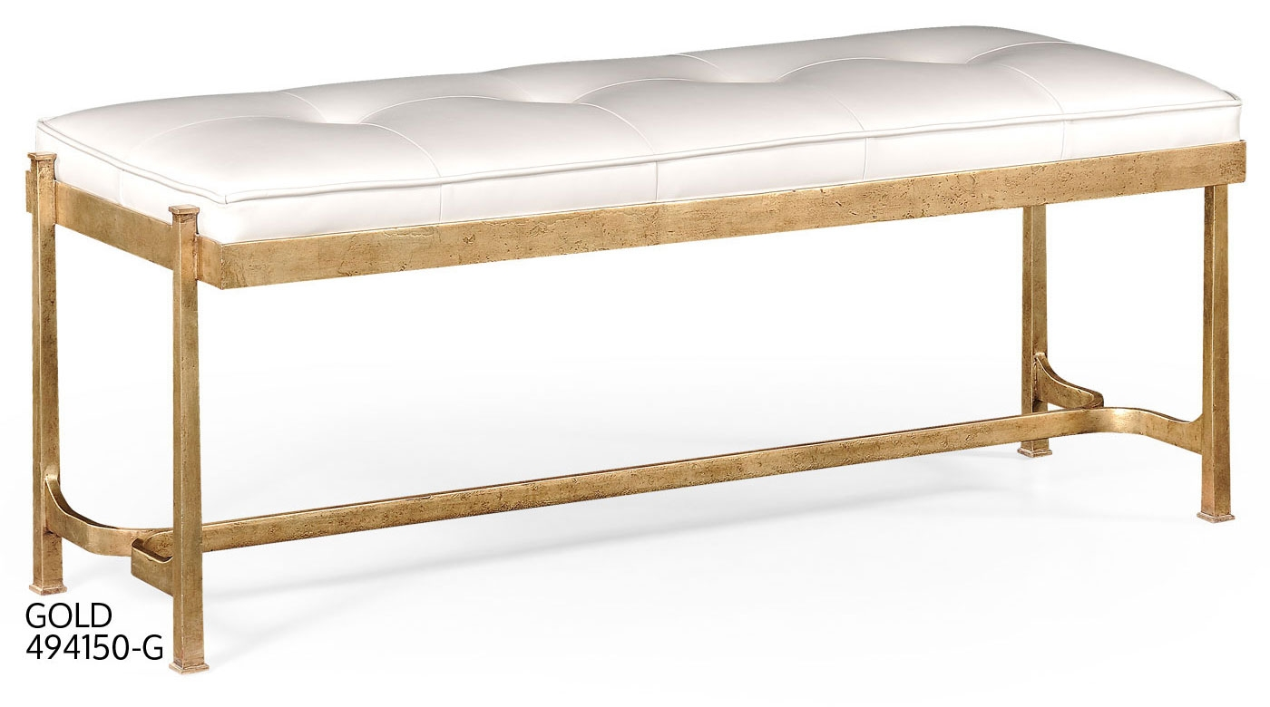 Living Room Rectangular Bench-52