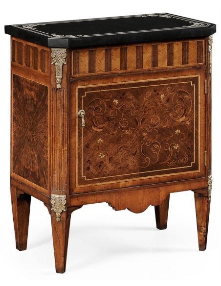 Square & Rectangular Side Tables Italian Side Wood Cabinet-70
