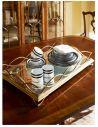 Square & Rectangular Side Tables Iron Large Rectangular Serving Tray-03