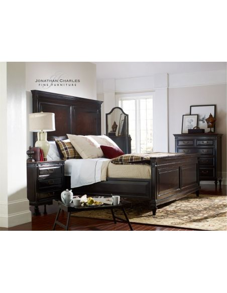 BEDS - Queen, King & California King Sizes King Size Bed in Ebony