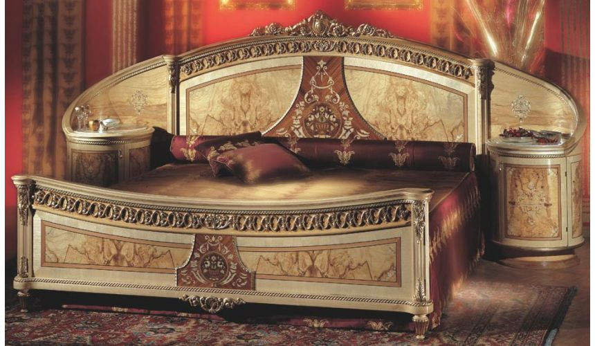 BEDS - Queen, King & California King Sizes Upscale master bed from our exclusive presidential collection