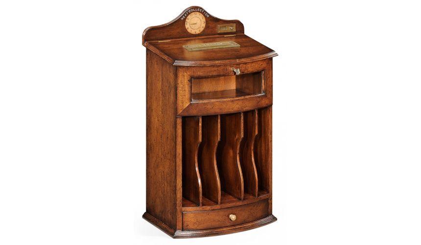 Decorative Accessories Antique Wooden Post Box-76