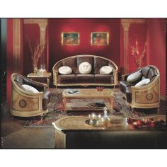 Upscale living room sofa from our exclusive presidential collection