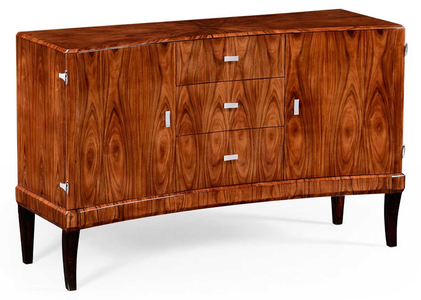 Deco style sideboard with curved front - Deko sideboard ...