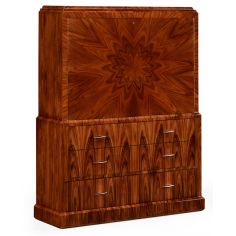 Art Deco Style Secretaire Cabinet-37