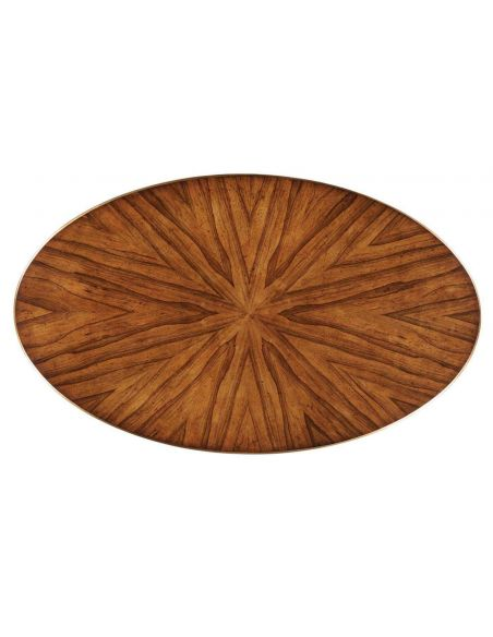 Round and Oval Coffee tables Contemporary Styled Oval Coffee Table-59