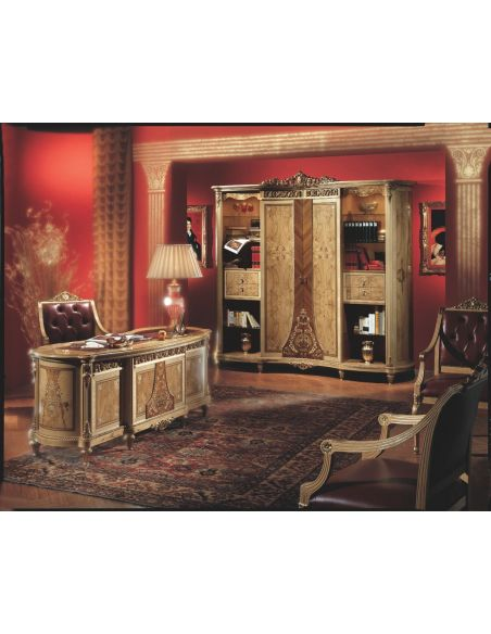 Executive Desks Upscale executive desk from our exclusive presidential collection