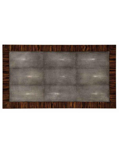 Square & Rectangular Side Tables Art Deco Styled Macassar Ebony Veneered-64