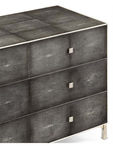 Modern Furniture Antique Silver Chest of 4 Drawers-84