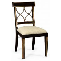 Black Painted Dining Side Chair-93