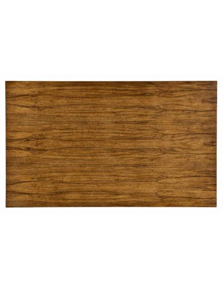 Square & Rectangular Side Tables Walnut Wood contemporary Coffee Table-95
