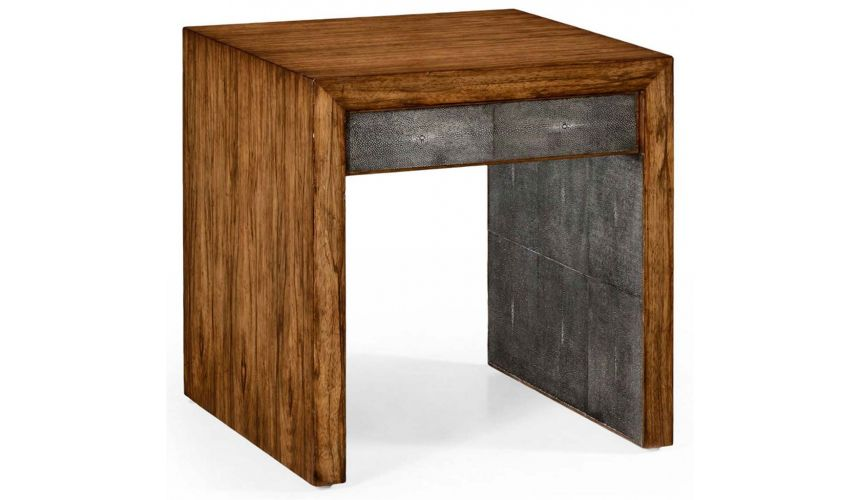 Square & Rectangular Side Tables Contemporary Styled Geometric Side Table-96