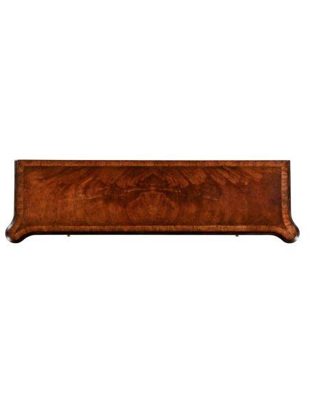 Mahogany Console Table Furniture-13