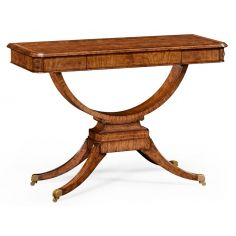 Elegant Biedermeier Rectangular Sofa or Center Table-17