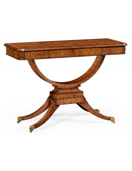 Console & Sofa Tables Elegant Biedermeier Rectangular Sofa or Center Table-17