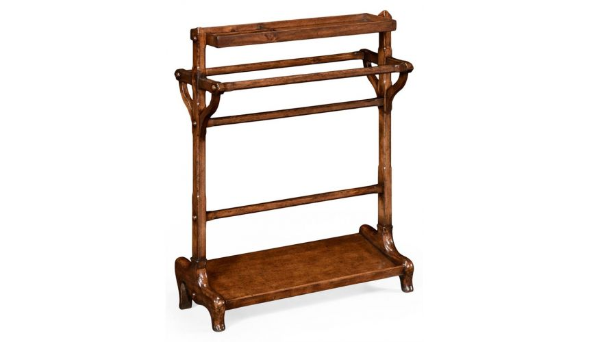 Square & Rectangular Side Tables Antique Kitchen style Towel Rack-21