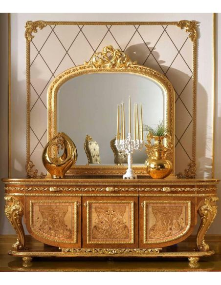 Breakfronts & China Cabinets High Quality Credenza. Home of the Czar Collection.