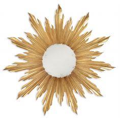 Louis XIV style Gilt Sunburst Mirror-60