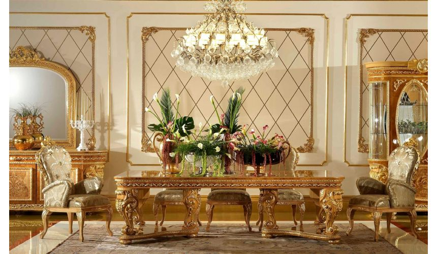 "Dining Tables Elegant dining tablefrom our exclusive \""Home of the Czar Collection\\"""