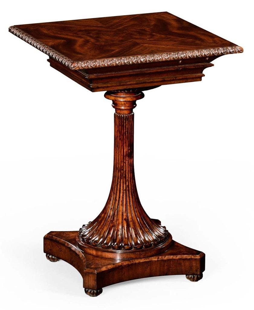 Living Room Mahogany Side Table-70