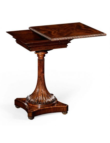 Square & Rectangular Side Tables Living Room Mahogany Side Table-70