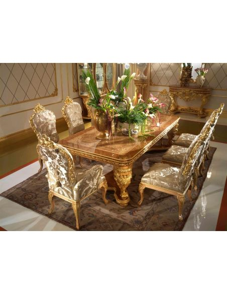 """Dining Tables Elegant dining tablefrom our exclusive \\""""Home of the Czar Collection\\"""""""