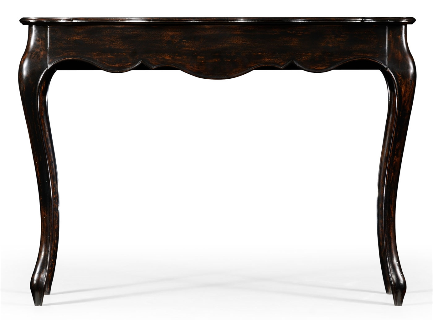 French provincial style distressed black painted console table french provincial style distressed black painted console table 88 geotapseo Gallery