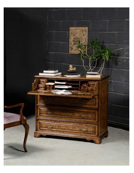 Executive Desks Writing Small Chest of 3 Drawers-98