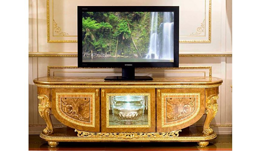 Console & Sofa Tables Elegant TV console cabinet