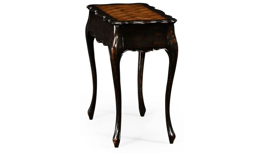 Square & Rectangular Side Tables French Provincial Style End Table-62