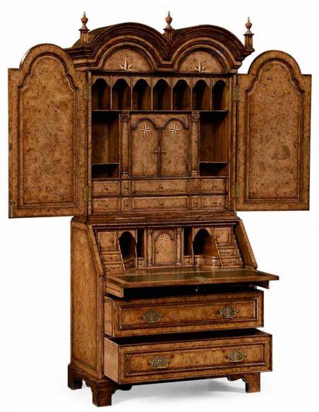 Executive Desks Classic Anne style Bureau Cabinet-65