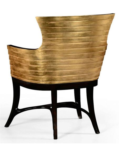 Square & Rectangular Side Tables Lacquer and Gilt Easy Chair-74