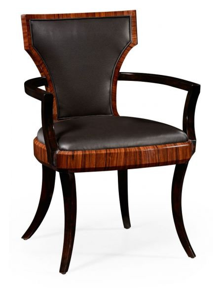 Square & Rectangular Side Tables Art Deco Dining Armchairs-80