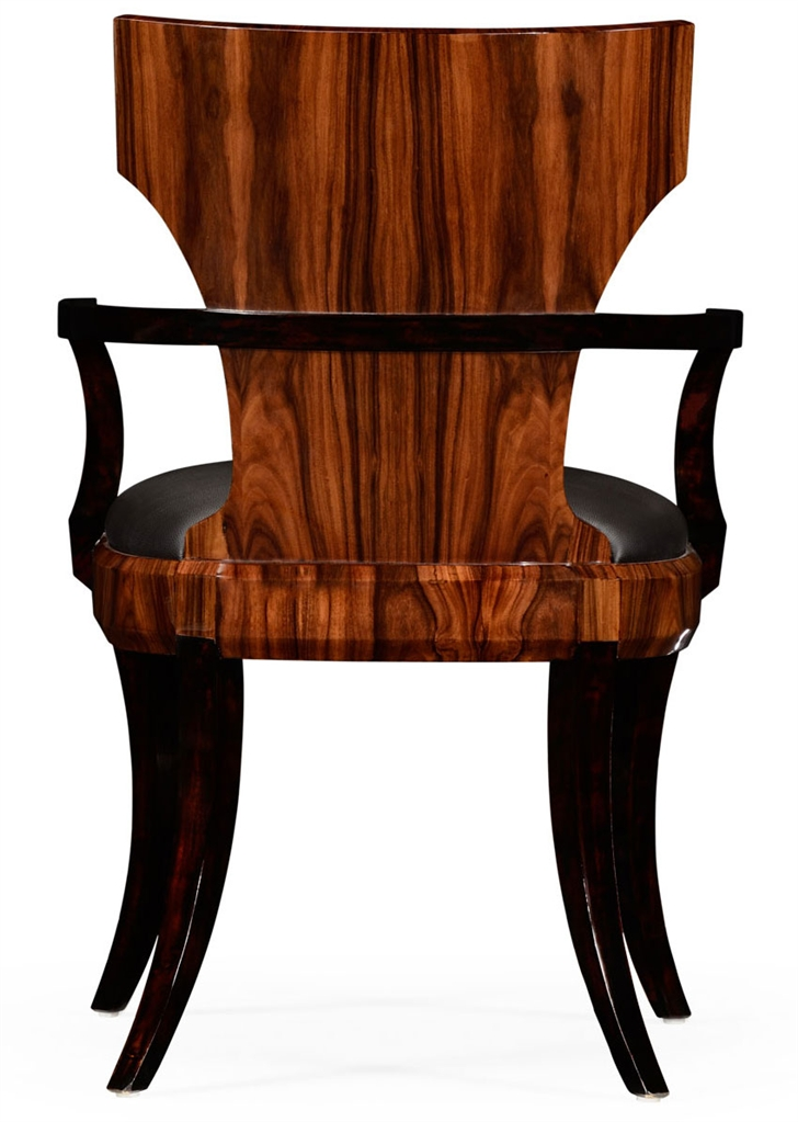 Antique Wood Dining Armchairs-88