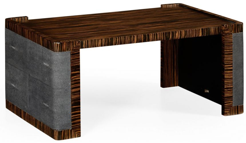 Other Home Accessories Faux macassar ebony, anthracite shagreen bed tray.