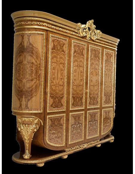 Bookcases Elegant tall armorie or dressing cabinet